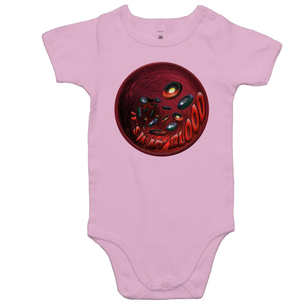 'In My Blood' Baby Romper - New Dawn & Zenadh Kes