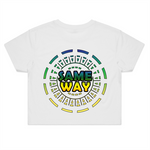'Whichway' Womens Crop Tee