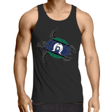 'TSI Turtle' Mens Singlet Top