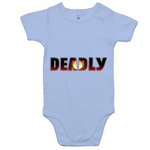 Baby New Dawn 'Deadly' Romper