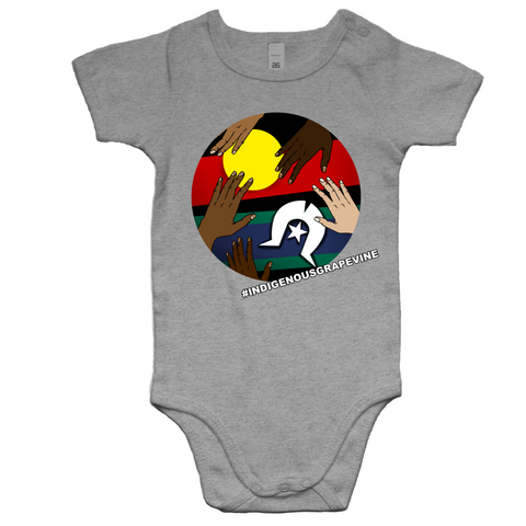 Baby 'Indigenous Grapevine' Romper