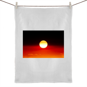 'New Dawn' Tea Towel