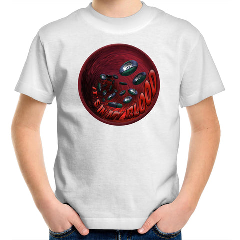 'It's In My Blood' Zenadh Kes Kids T-Shirt