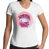 'Blak Girl Magic'  Womens V-Neck T-Shirt