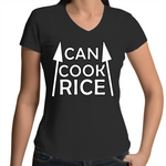 'Can Cook Rice' V-Neck T-Shirt