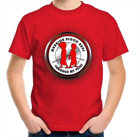 Kid's 'Warrior Blood' T-Shirt