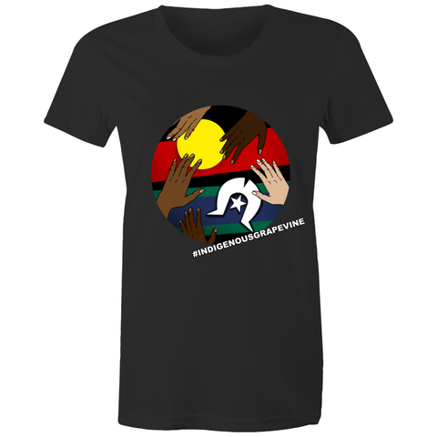 'Indigenous Grapevine' Tee