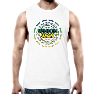 'Whichway'  Mens Tank Top Tee