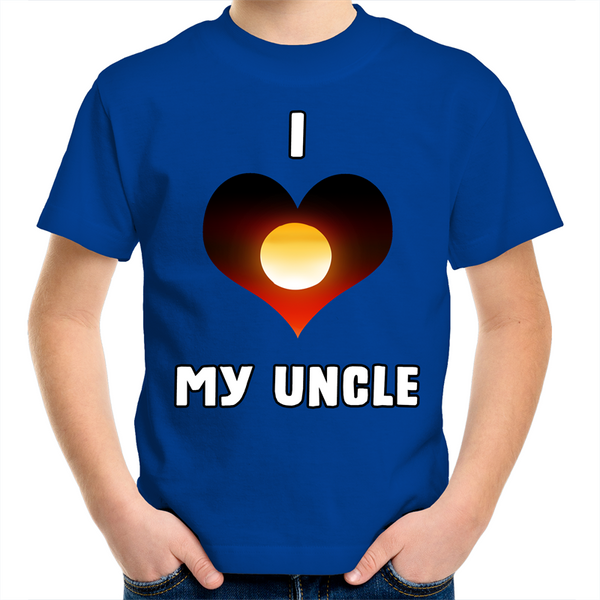 New Dawn 'I Love My Uncle' Kids T-Shirt