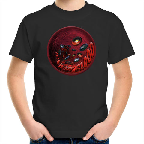 'In My Blood' Kids T-Shirt - New Dawn & Zenadh Kes