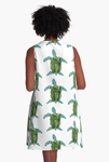 'Protect The Turtle Journey' A-Line Dress