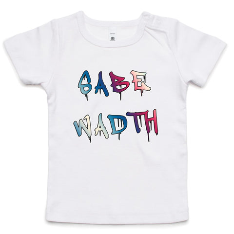 'Sabe Wadth' Infant Tee