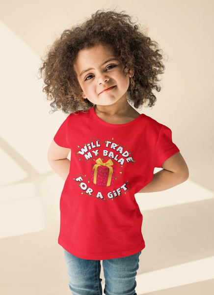 'Will Trade My Bala' Kids T-Shirt