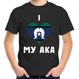 TSI 'I Love My Aka' Kids T-Shirt