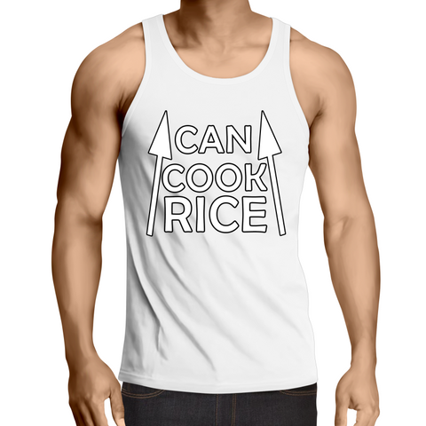 'Can Cook Rice' Mens Singlet