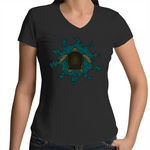 'Waru, Dhangal and Kayarr' Womens V-Neck T-Shirt
