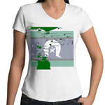 'Island Home' V-Neck T-Shirt