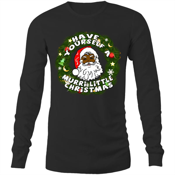 'Have Yourself A Murri Little Christmas' Long Sleeve T-Shirt