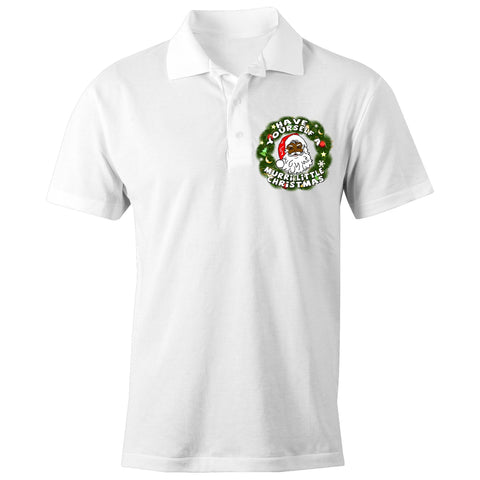 'Have Yourself A Murri Little Christmas' Polo Shirt