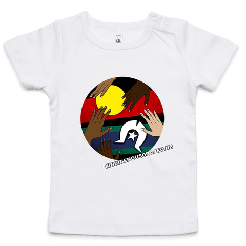 'Indigenous Grapevine' Infant Tee