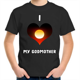 New Dawn 'I Love My Godmother' Kids T-Shirt