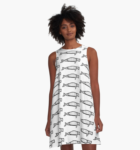 'The Dugong' A-Line Dress