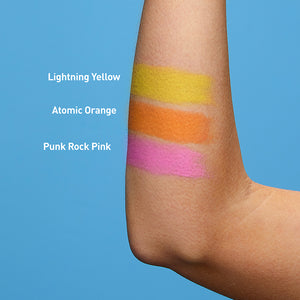 Mineral SPF 50 Neon Sunscreen Stick 3-Pack - Sunset Edition - Pink, Orange, Yellow