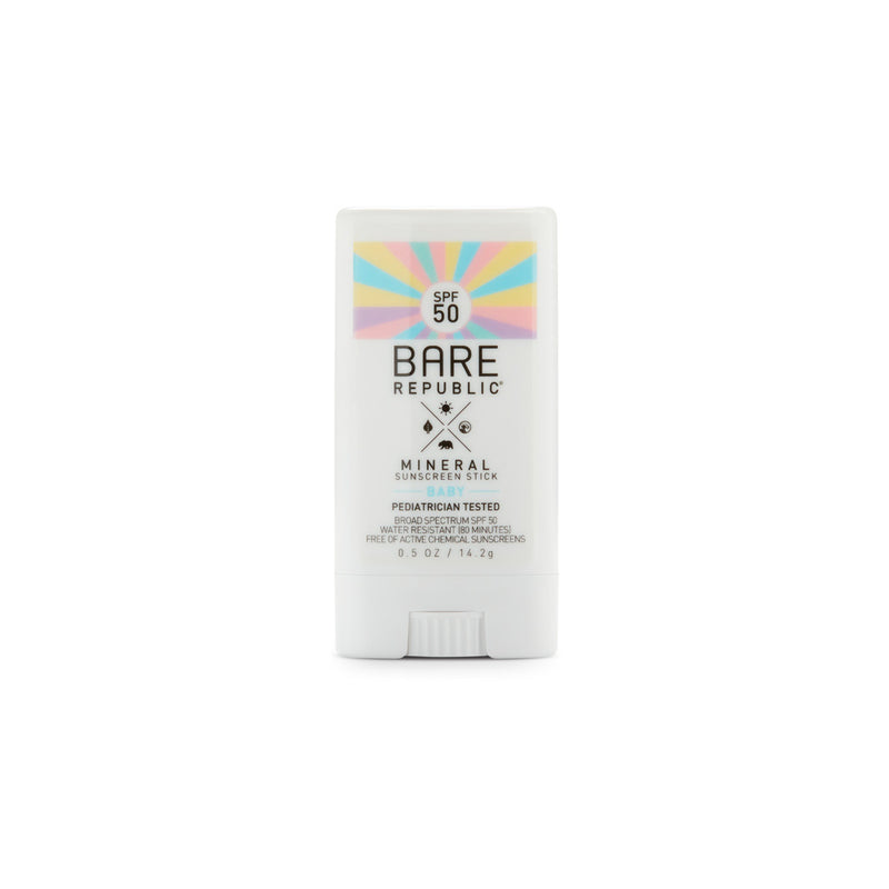 Mineral SPF 50 Baby Sunscreen Stick - Bare Republic