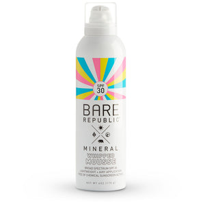 Mineral SPF 30 Sunscreen Mousse