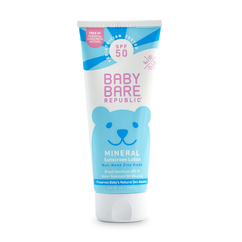 Mineral SPF 50 Baby Sunscreen Face & Body Lotion