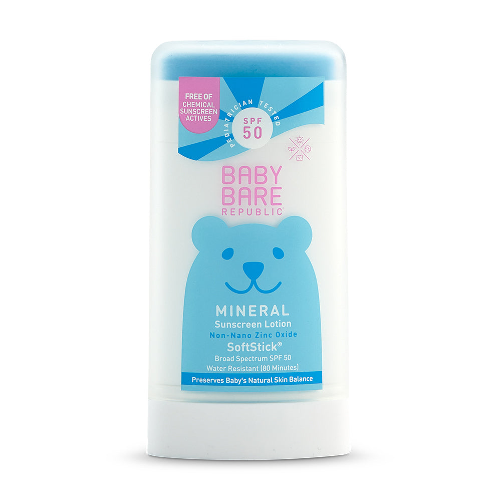 Mineral SPF 50 Baby Sunscreen Face & Body SoftStick