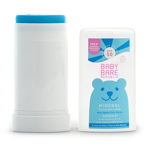 Mineral SPF 50 Baby Sunscreen Face & Body SoftStick®