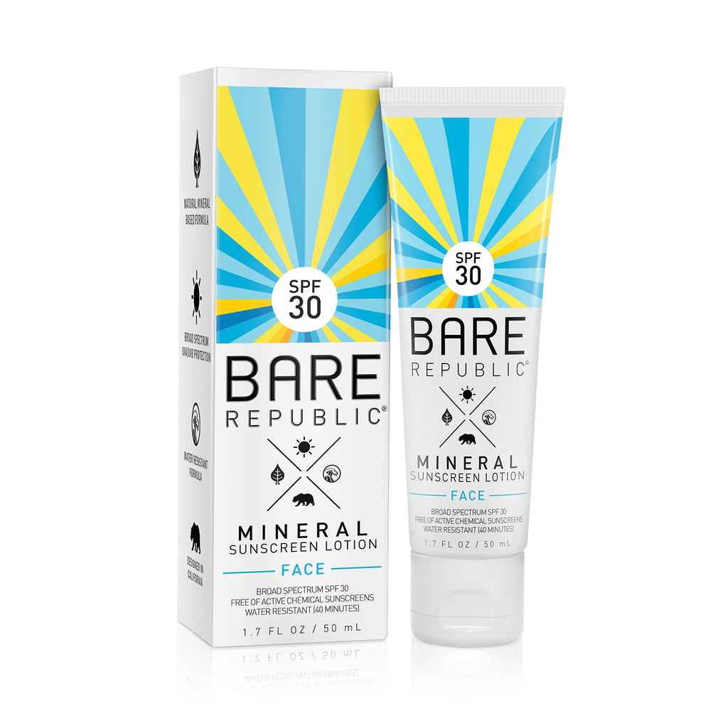 Mineral SPF 30 Face Sunscreen Lotion - Bare Republic