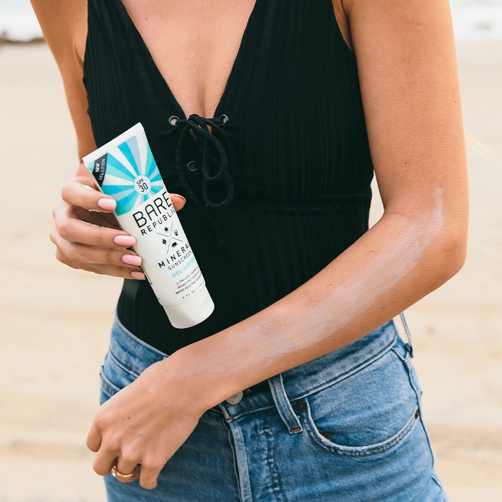 Mineral SPF 30 Body Sunscreen Gel-Lotion