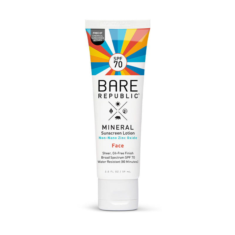 Mineral SPF 70 Face Sunscreen Lotion