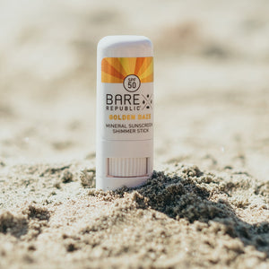 Mineral SPF 50 Gold Shimmer Sunscreen Stick - Golden Daze
