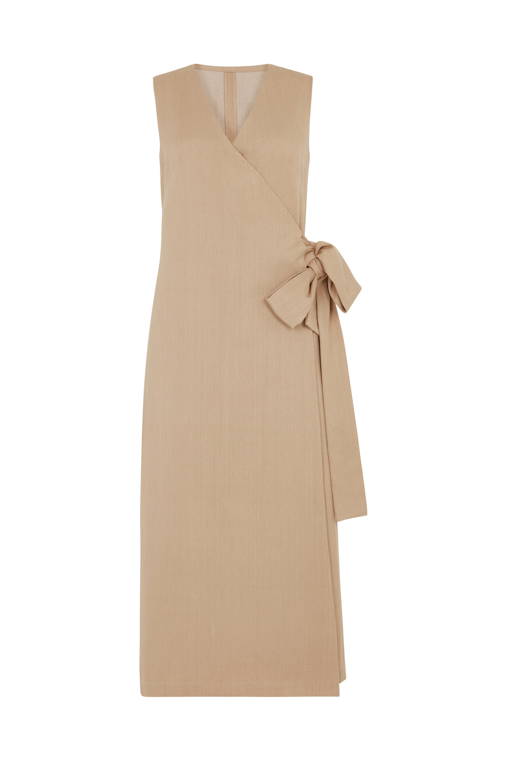 Smoky Pink Karen Wrap Dress - hotmamas  london