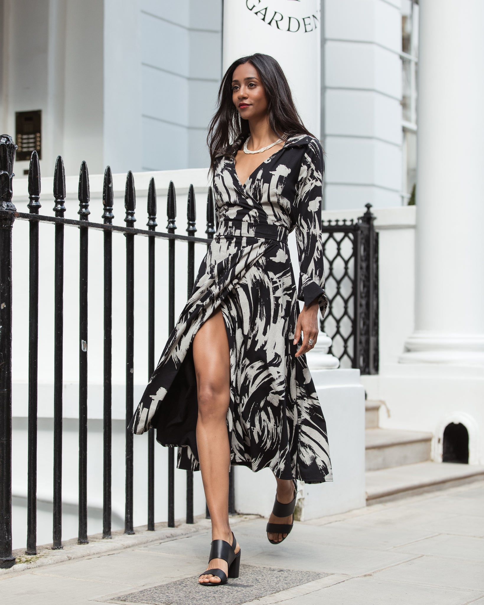 Shelly Wrap Dress - hotmamas  london