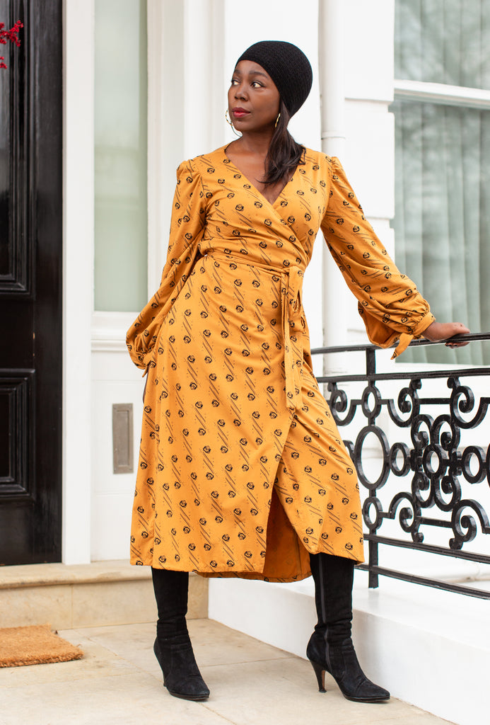 Elizabeth Wrap Dress - hotmamas  london