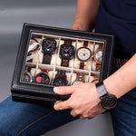 10 slot luxury display box (watches not included)