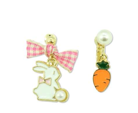 MINISTA MRS. RABBIT EARRINGS CLIPS