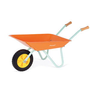 JANOD - HAPPY GARDEN METAL WHEELBARROW