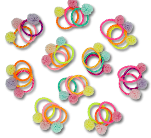 MINISTA MINI POM HAIR TIE