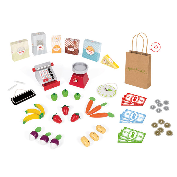JANOD - GREEN GROCER SET