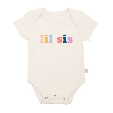 FINN + EMMA BABY BODY GRAPHIC BODYSUIT Lil Sis