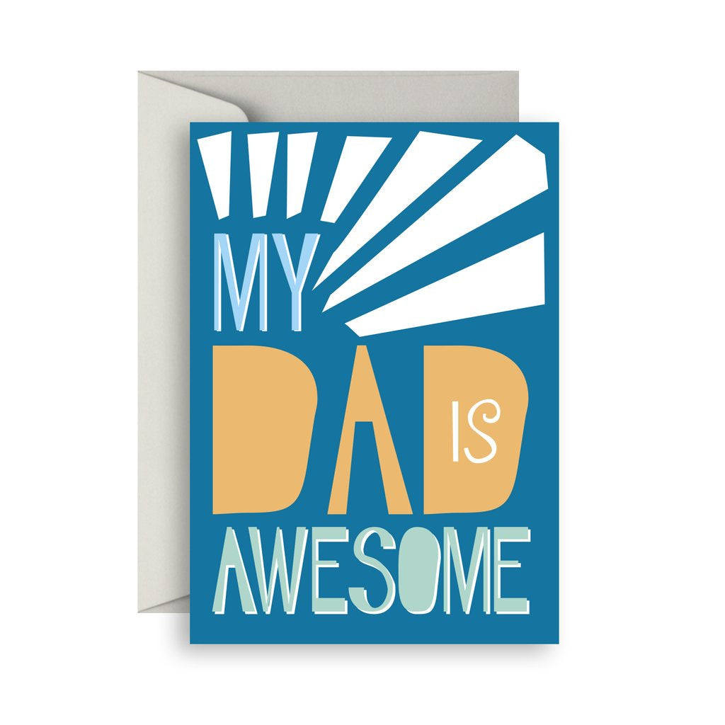 Sprout and Sparrow Dad is awesome Card