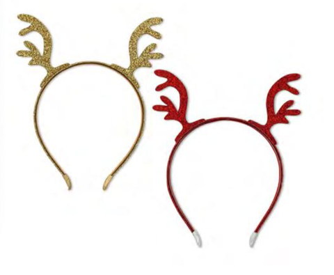 MILK X SODA SPARKLE REINDEER HEADBAND