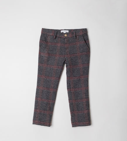 Fina Ejerique PLAID TROUSERS O20S2248