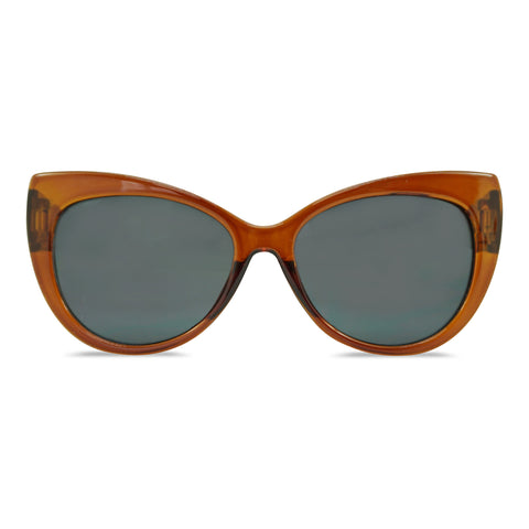 MILK X SODA LUNA SUNGLASSES BROWN