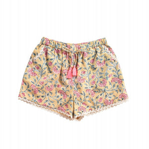 LOUISE MISHA Shorts Vallaloid Lemon Flowers BABY AND KIDS